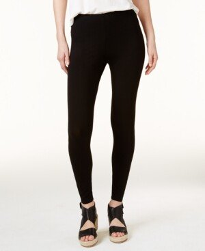 Eileen Fisher System Jersey Knit Ankle Leggings, Regular & Petite