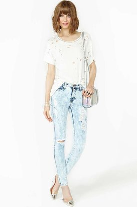 Nasty Gal Acid Burn Skinny Jeans
