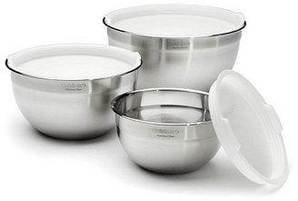 3-Pc Mixing Bowl Set w/ Lids
