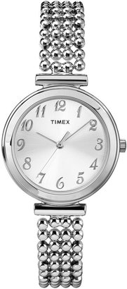 Timex Womens Oval Expansion Strap Watch T26301 $59.95 thestylecure.com