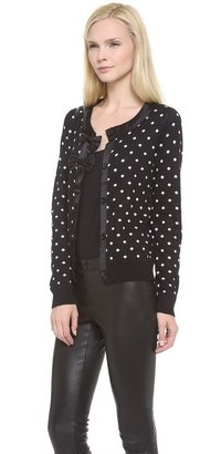 Alice + Olivia Lewin Double Bow Cardigan