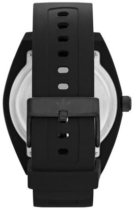 adidas 'Santiago XL' Silicone Strap Watch, 50mm