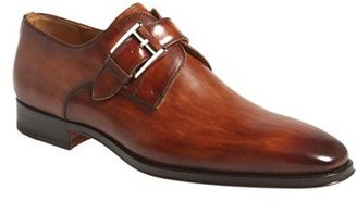 Men's Magnanni Marco Monk Strap Loafer $325 thestylecure.com