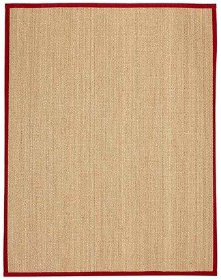 Pottery Barn Fibreworks®; Custom Color-Bound Seagrass Rug - Cardinal Red