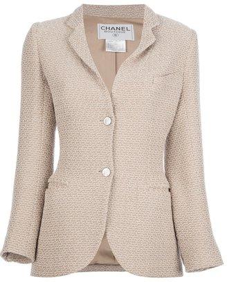 Chanel stitch detailed jacket