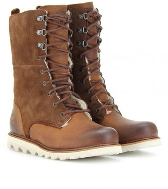 Sorel WICKED WORK SHEARLING LINED BOOTS