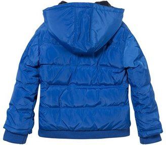 Levi's Bright Blue Hooded Puffer Coat