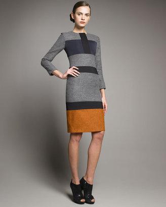 Jil Sander Colorblock Dress