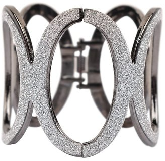 Lori's Shoes Glitter Circle Cuff