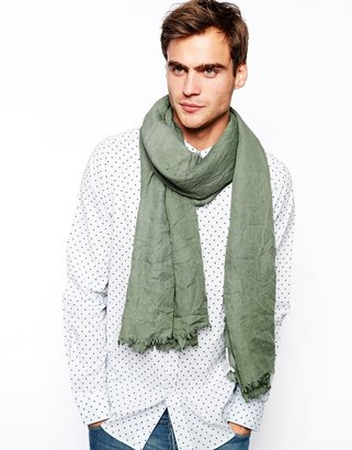 Selected Shadow Lightweight Scarf