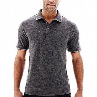 Claiborne Tipped Piqué Polo Shirt
