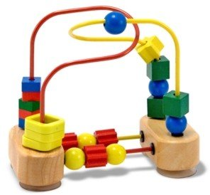 Melissa & Doug Kids Toys, First Bead Maze