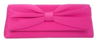 Debut Pink lamour bow clutch handbag
