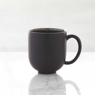 Crate & Barrel Jars Tourron Black Mug