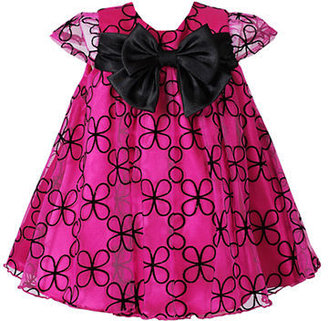 Sweet Heart Rose SWEETHEART ROSE Baby Girls Printed Occasion Dress