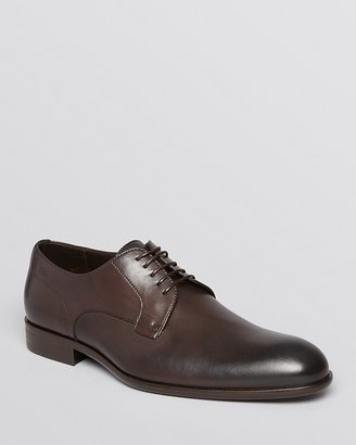 HUGO BOSS Brondor Leather Lace-Up Oxfords