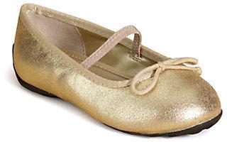 Ralph Lauren Infant's & Toddler's Allie Leather Ballet Flats