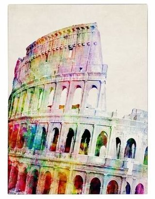 Colosseum Trademark Global 'Colosseum' by Michael Tompsett Ready to Hang Canvas Wall Art