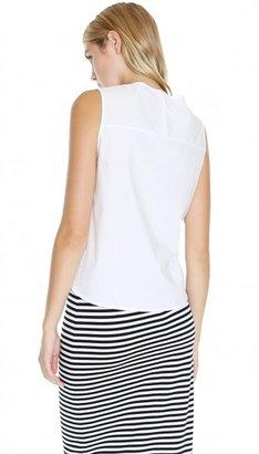 Tibi Ultra Matte Poplin Shirt