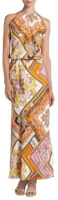 Single Dress Single Drape-back Maxi Dress