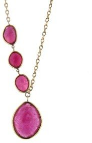 Jamie Joseph Faceted African Ruby Necklace