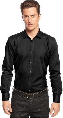 INC International Concepts Shirt, Big & Tall Long Sleeve Mohite Slim Shirt