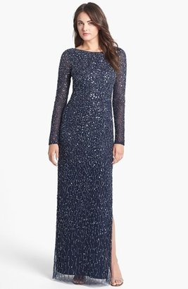 Aidan Mattox Sequin Gown