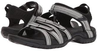 Teva Tirra (Black/White Multi) Women's Sandals