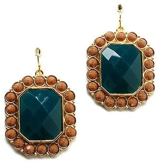 Style Tryst Rectangle Bead Earrings