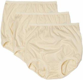 Vanity Fair Women's Lollipop Plus Size Cuff Leg Brief Panties 3 Pack 15867 $18.50 thestylecure.com