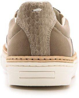 Maison Martin Margiela Snakeskin Slip On Sneakers