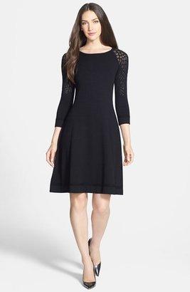 Rachel Roy Burnout Knit Dress