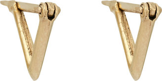 Wendy Nichol Women's Triangular Hoop Earrings