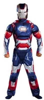 Iron Man Boy's Iron Patriot Classic Muscle Costume