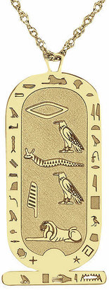 FINE JEWELRY Personalized Hieroglyphic Pendant Necklace