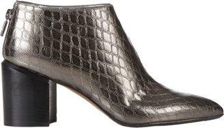 Walter Steiger Croc-Stamped Ankle Boots