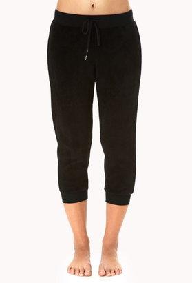 Forever 21 Cozy Fleece PJ Sweatpants