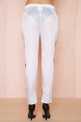 Nasty Gal First Base Parachute Track Pant