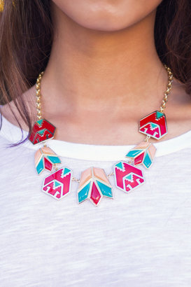 y&i clothing boutique Tribal Statement Necklace