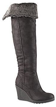 Call it SPRING Call It SpringTM Eveline Tall Cuffed Wedge Boots
