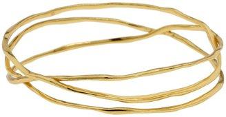 Gorjana Laurel Bangle (Gold) - Jewelry