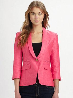Smythe Shawl-Collar Blazer