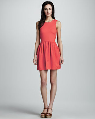 RED Valentino Bow-Back Dress, Ibisco