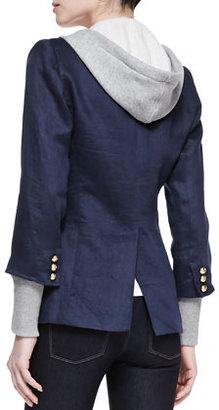 Smythe Blazer with Removable Hood
