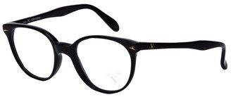 Valentino round frame glasses