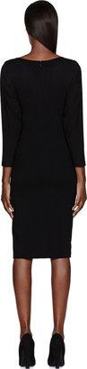 Altuzarra Black Varick Stretch Jersey Dress
