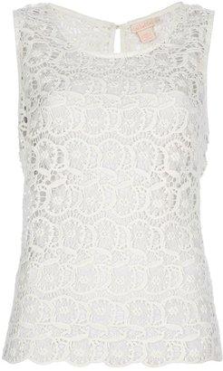 Collette Dinnigan Collette By 'Portobello' lace top