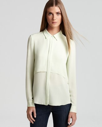 Theory Top - Rosita Double Georgette