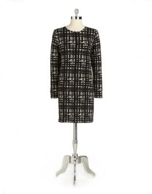 MICHAEL Michael Kors Printed Jersey Shift Dress