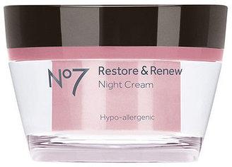 Boots Restore & Renew Night Cream 1.69 oz (50 ml)